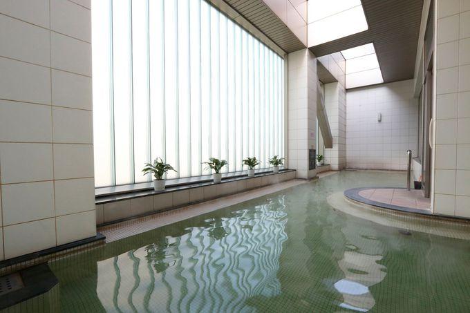 宿泊者専用のモダンなお風呂で癒される「札幌プリンスホテル」
