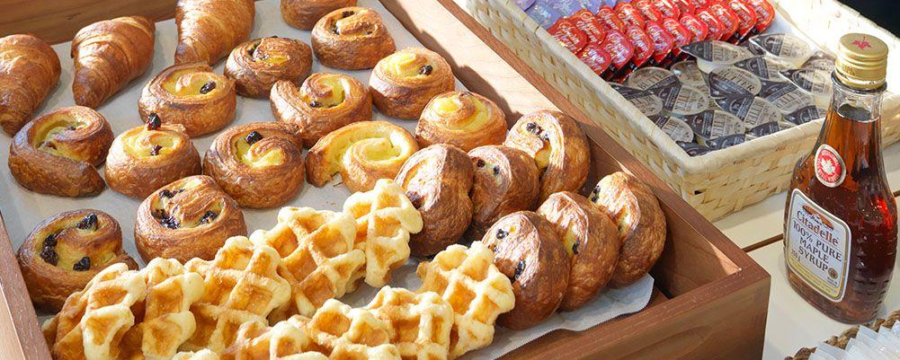 こだわりの朝食ブッフェを堪能できる「函館グランドホテル別館 ラ・ジョリー元町」