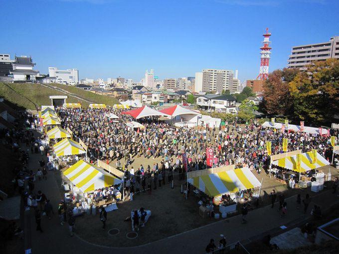 日本最大級の餃子の祭典「宇都宮餃子祭り」