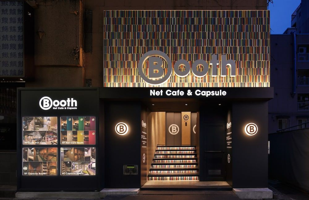5.Booth NetCafe&Capsule