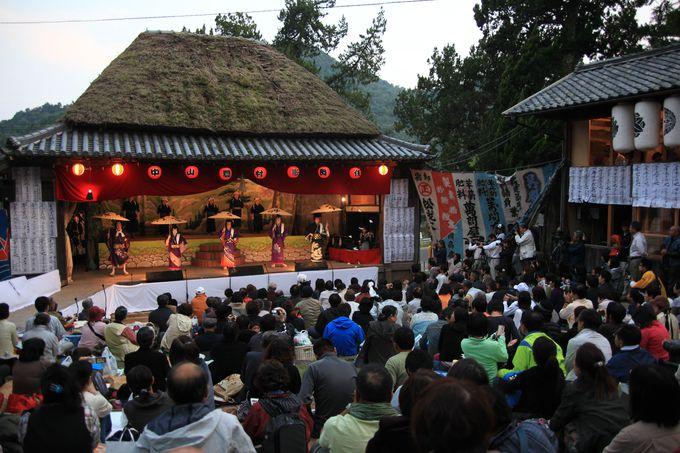 素朴な農村で受け継がれる郷土芸能「中山農村歌舞伎」