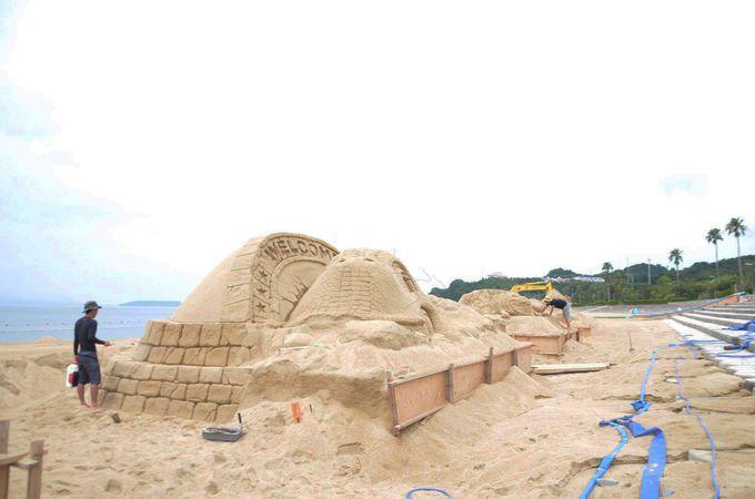 白砂ビーチにグルメにスパ。3拍子揃った「四郎ヶ浜ビーチ」