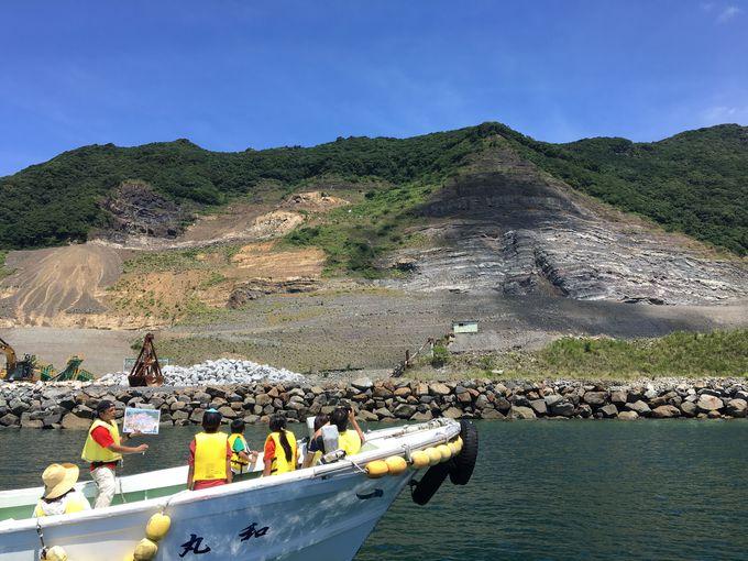 離島で発掘体験。「恐竜の島・御所浦の化石採集クルージング」