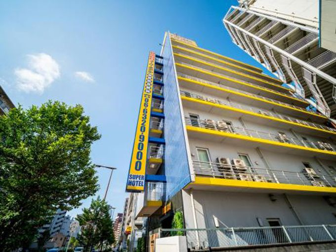 7.スーパーホテルJR新大阪東口