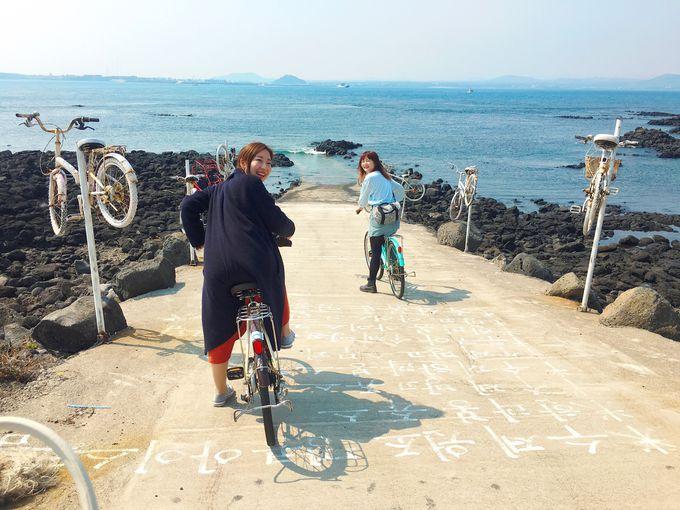 5.フェリーに乗って「牛島」へ!のんびりサイクリング