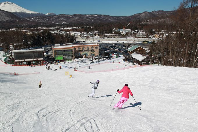 8.軽井沢でスキーを楽しもう!
