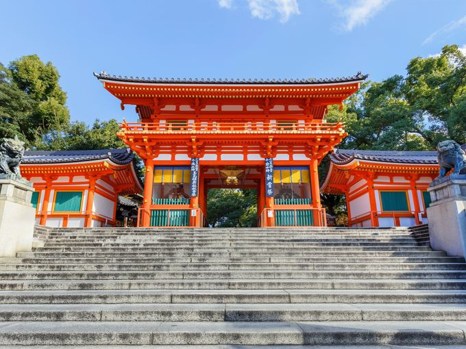 2.オープントップバスで京都を車窓観光