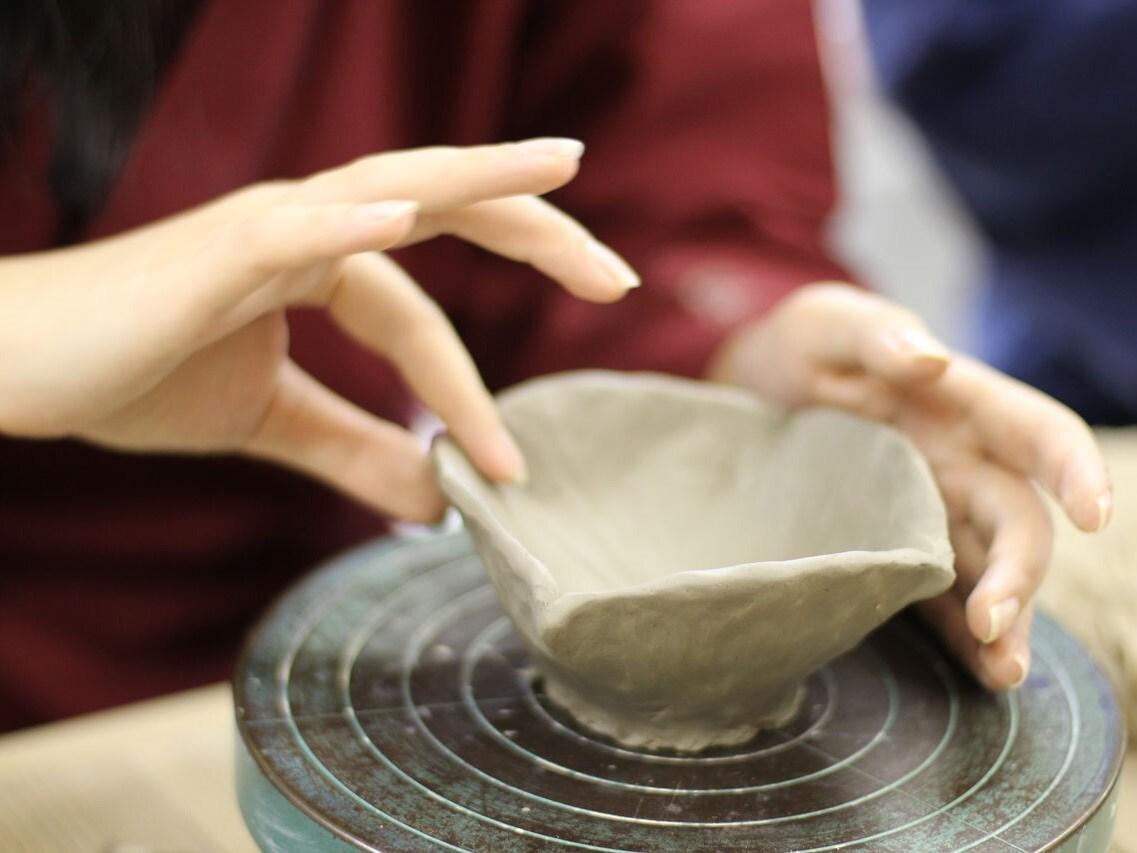 10.清水焼の窯元体験