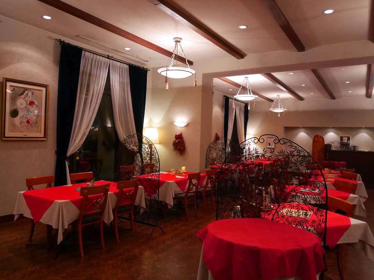 1日目夜:ホテルでゆったりと夕食を楽しもう(大山町)