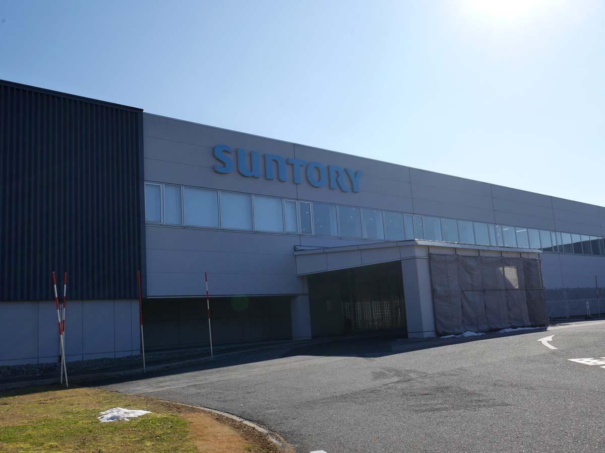 2日目午前:サントリー天然水 奥大山ブナの森工場で工場見学(江府町)