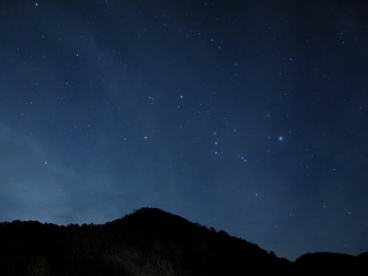 1日目夜:鳥取の星空を堪能(大山町)