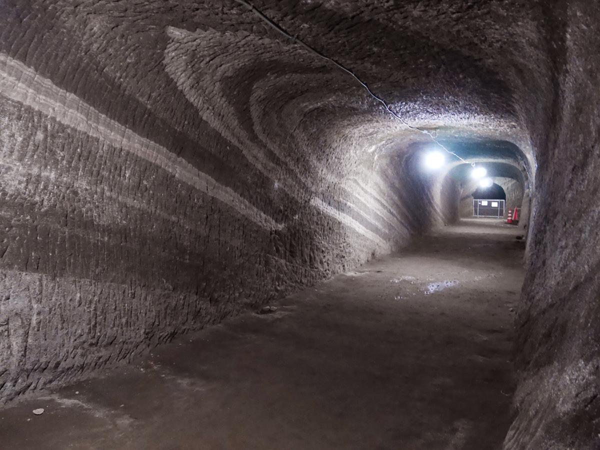 2日目午前:赤山地下壕跡(館山市)