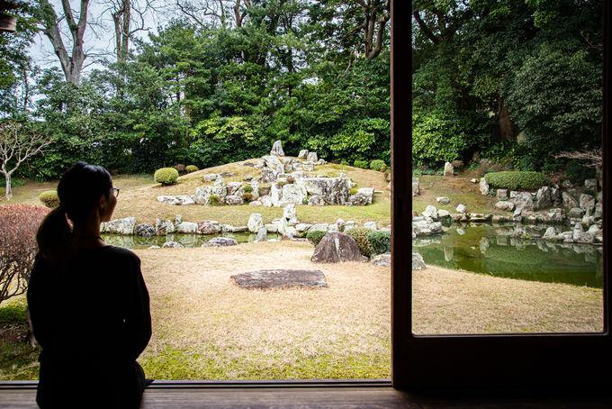 1日目午前:「萬福寺」の雪舟庭園で感性を磨こう