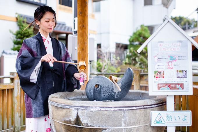2日目午後:美肌の湯「玉造温泉」で化粧水に浸かる!?