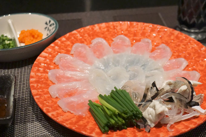 2日目夜:山口名物ふぐを食す「浜ふく」至福ディナー