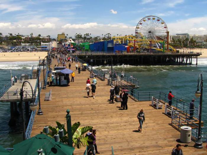 4.ロサンゼルス観光ツアー(ハリウッド+サンタモニカ+ファーマーズマーケット)