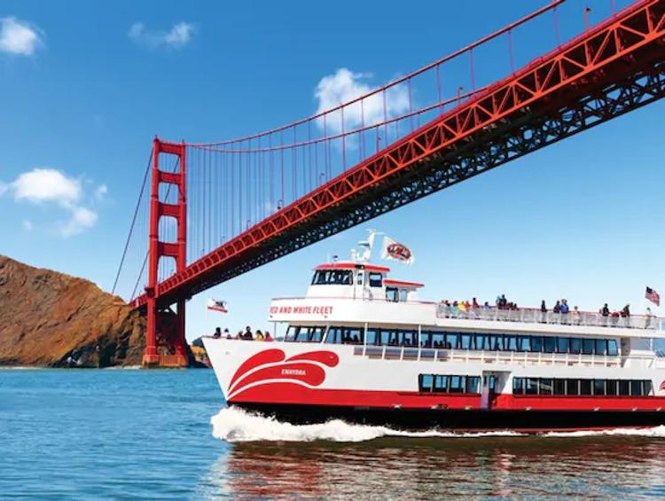 7.アルカトラズ島とゴールデンゲートブリッジを巡るサンフランシスコ湾遊覧クルーズ