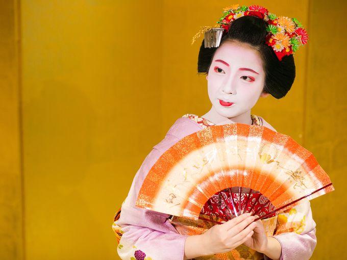 2.舞妓はん京舞と京料理付きバスツアー