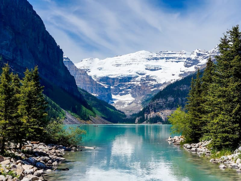 2.カナディアンロッキー レイクルイーズ+モレーン湖+ヨーホー国立公園(4〜10月)