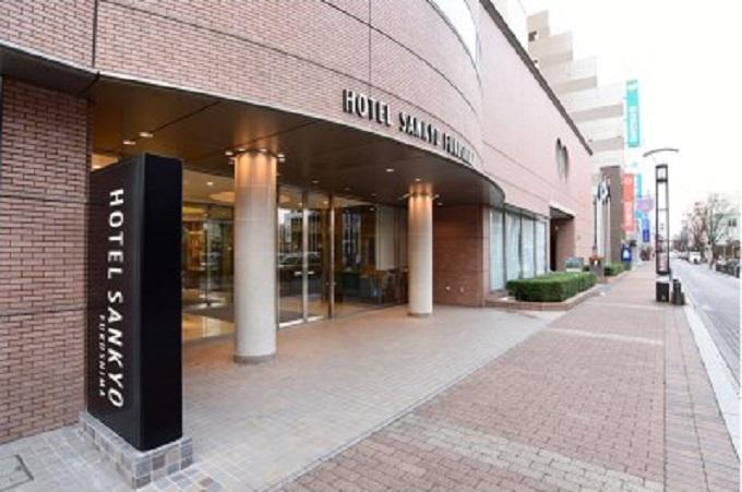 3.HOTEL SANKYO FUKUSHIMA ホテル サンキョウ フクシマ