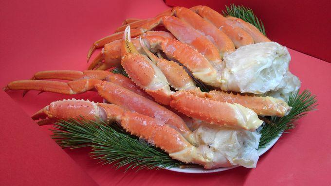 うま味がギュッとつまったカニや貝も北海道直送で!