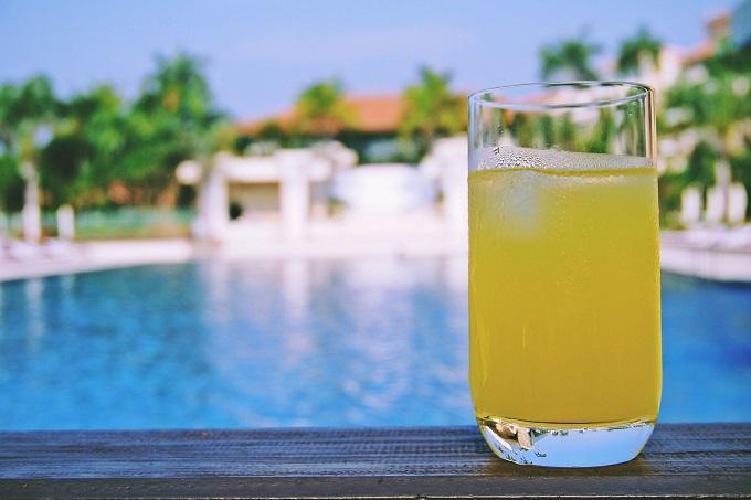 特製ジュースならお酒にも使えます!