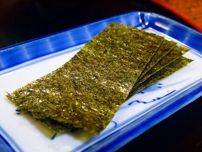 東京の海苔や味噌もおいしいんです