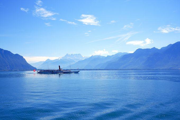 女子旅におすすめ!「レマン湖地方」の魅力