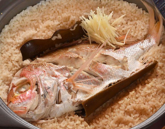 愛媛といえばコレ!おいしいダシのでる鯛料理をご堪能あれ