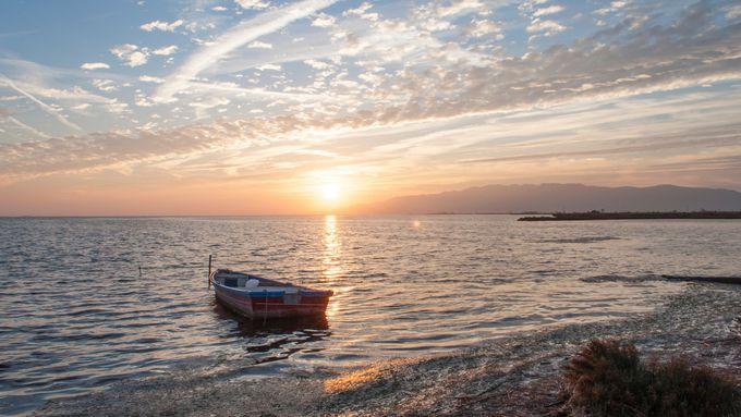 タラゴナ:デルタに沈む夕陽は忘れられない思い出に!