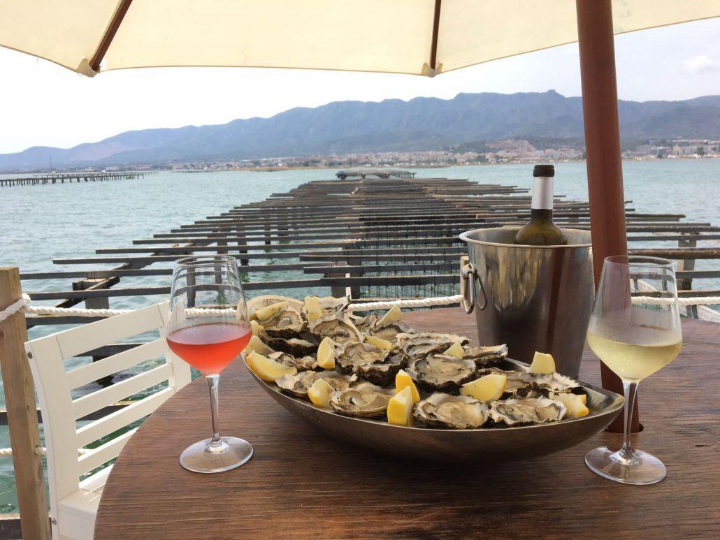 タラゴナ:眺望抜群の海上レストランでシーフードグルメ!
