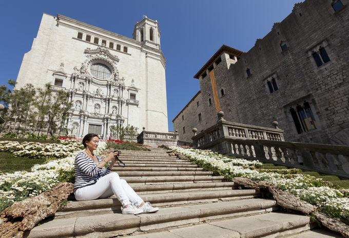 ジローナ:あの海外ドラマのロケ地です!ジローナ旧市街