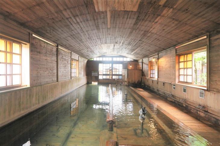 1.千人風呂 金谷旅館