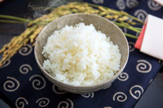 青森のお米はふっくらであまみがたっぷり
