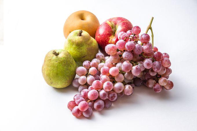 旬なフルーツも盛りだくさん