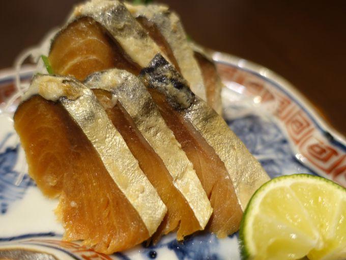 福井の鯖料理はおかずでもおつまみでもOK!
