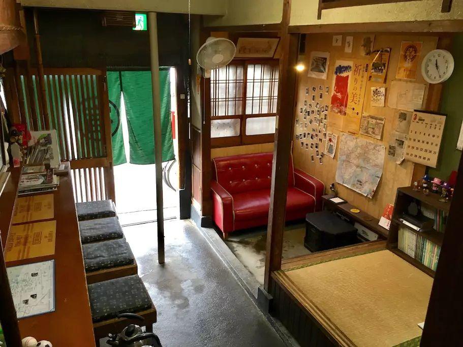 5. ならまちで町屋のゲストハウスに宿泊/奈良市