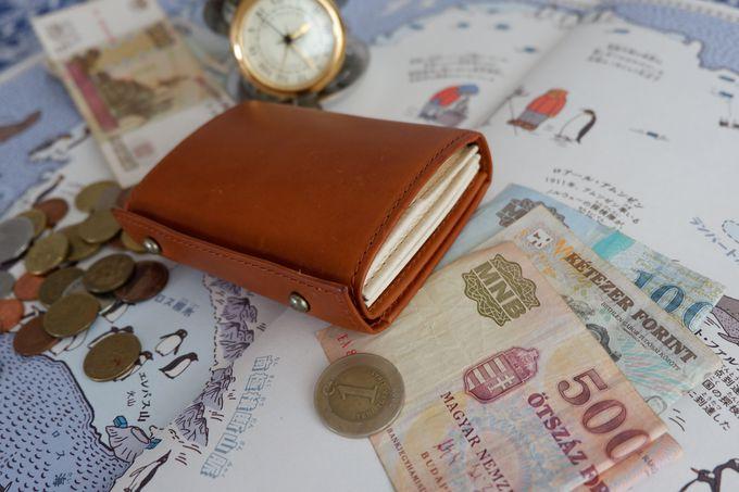 4. m+の折り畳み財布「millefoglie」