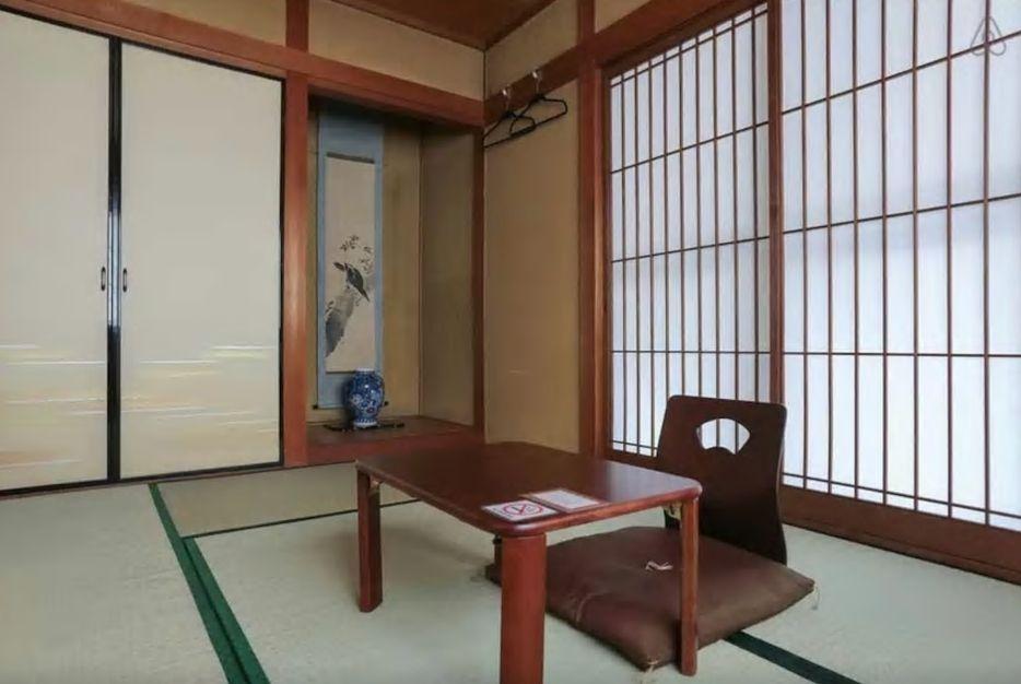 3.京都駅から徒歩9分の和室のお部屋/京都市