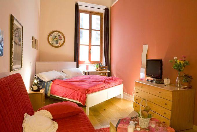 ドゥオモ広場から徒歩1分!個室貸し出しアパート/フィレンツェ