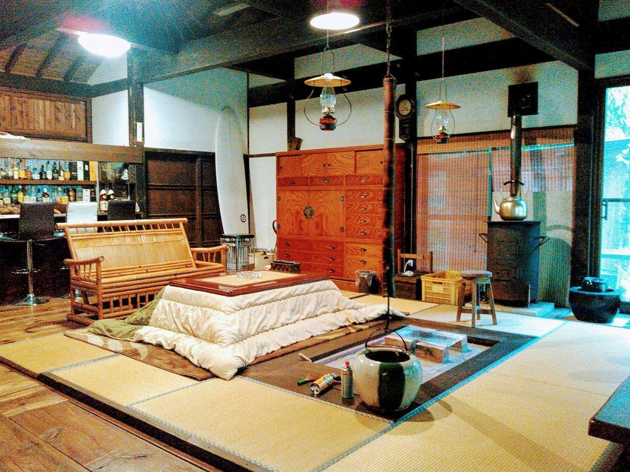 2.囲炉裏がある古民家をまるまる貸し切り/宮崎市