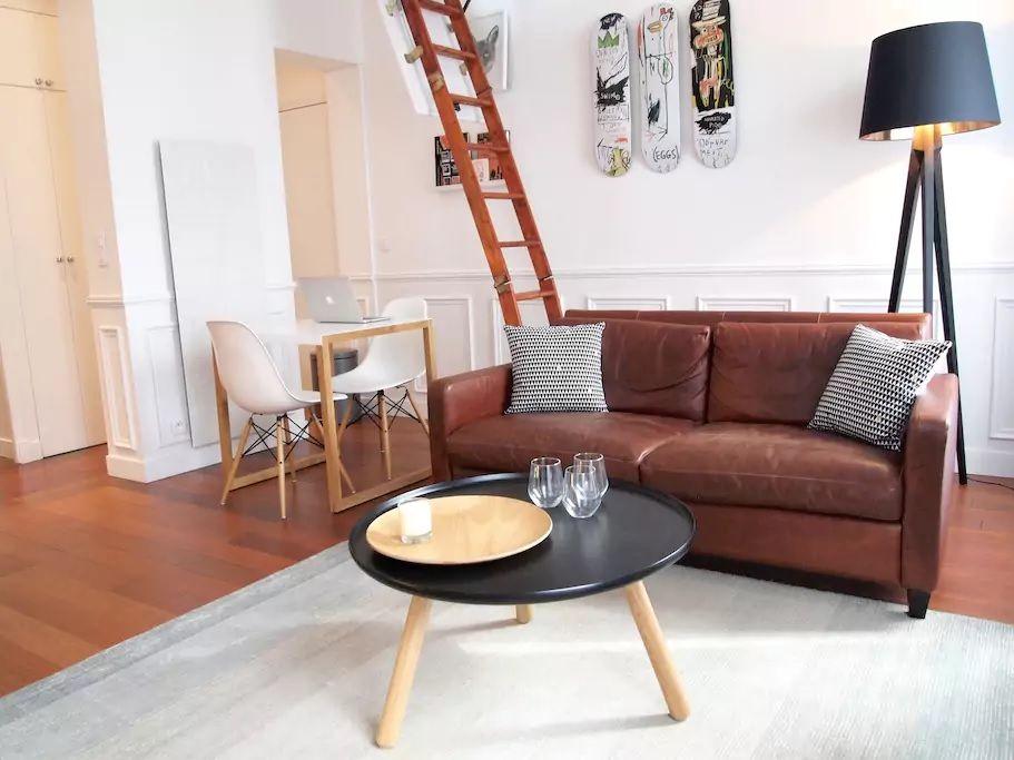 3.ロフト付き!広さ充分の素敵な貸切アパート/マレ地区