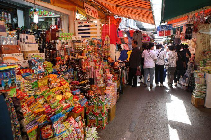 「富平カントン市場」で釜山B級グルメを堪能!
