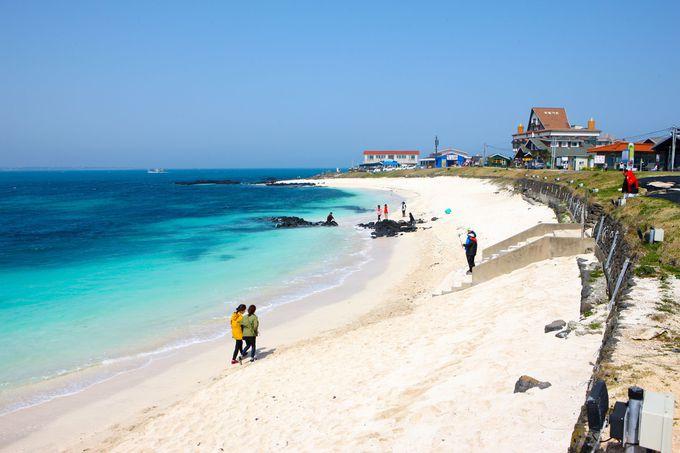 済州本島から気楽に行ける「牛島」での〜んびり