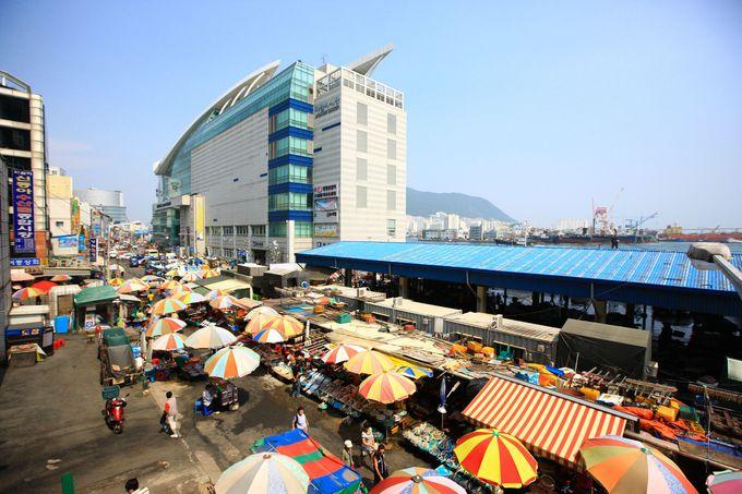 海の幸天国!「チャガルチ市場」