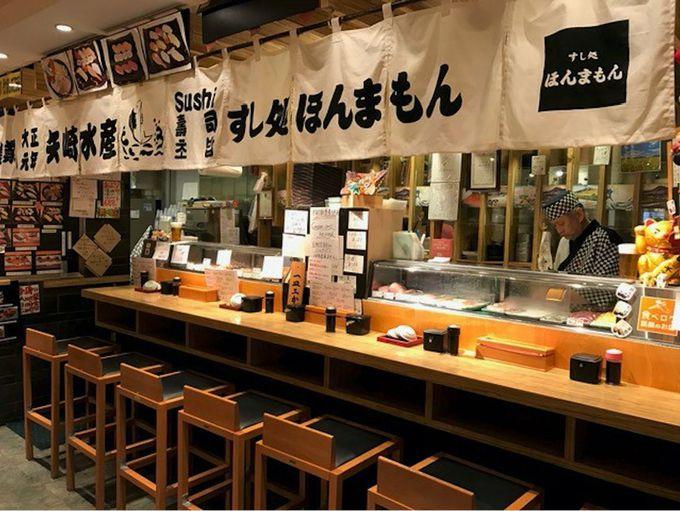 7.関西国際空港なら大阪の美味しいグルメも堪能できちゃう