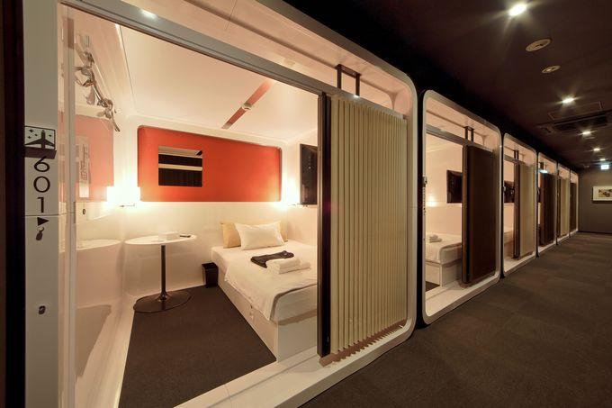 5.スマートなホテルでフライトまでゆっくりと就寝