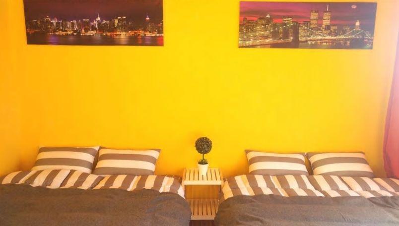 4.梨泰院にあるイエローの可愛いお部屋/ソウル市