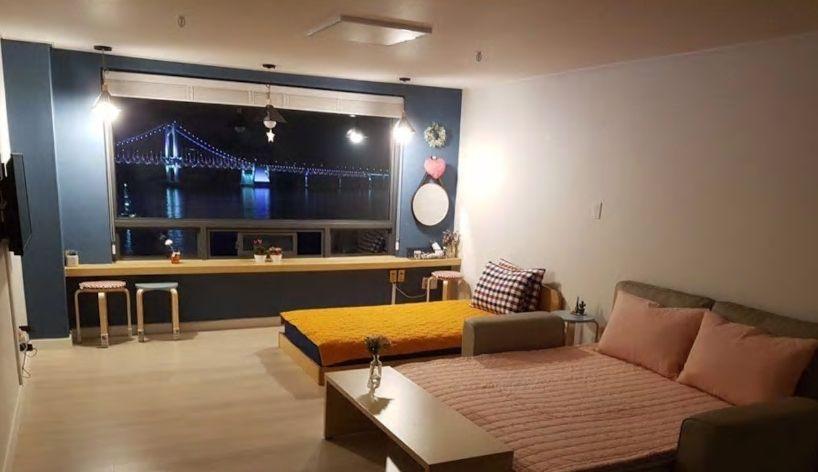 7.広安大橋一望のオーシャンビュー、夜景も綺麗/釜山市