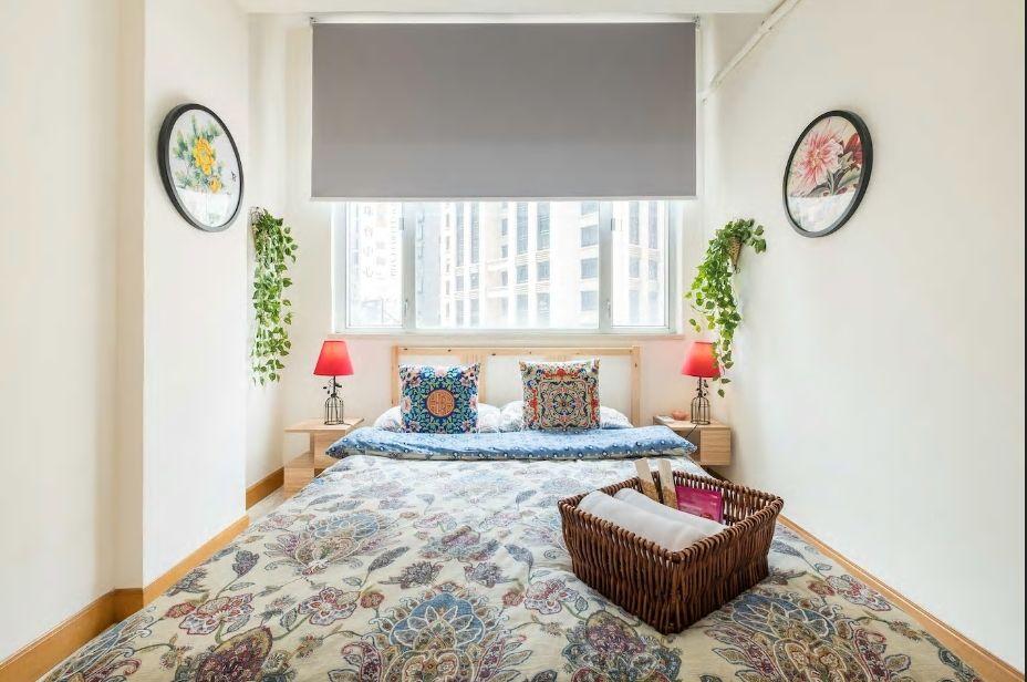 5.シノワズリデザインで統一された可愛いお部屋/香港島